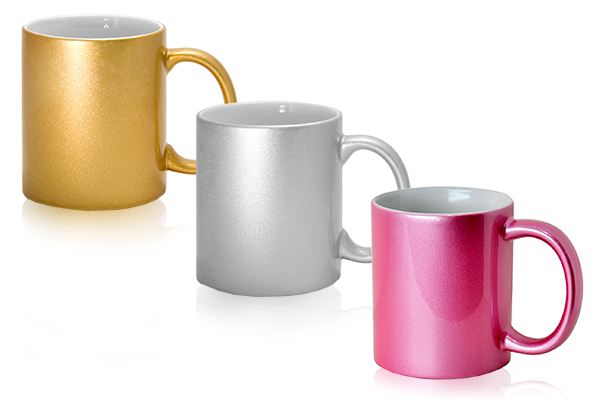 mugs metallic